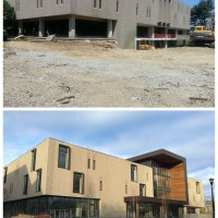 Shain Library Renovation Before & After